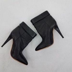 Loeffler Randall Booties 8 B Ankle Boots Heel Poin